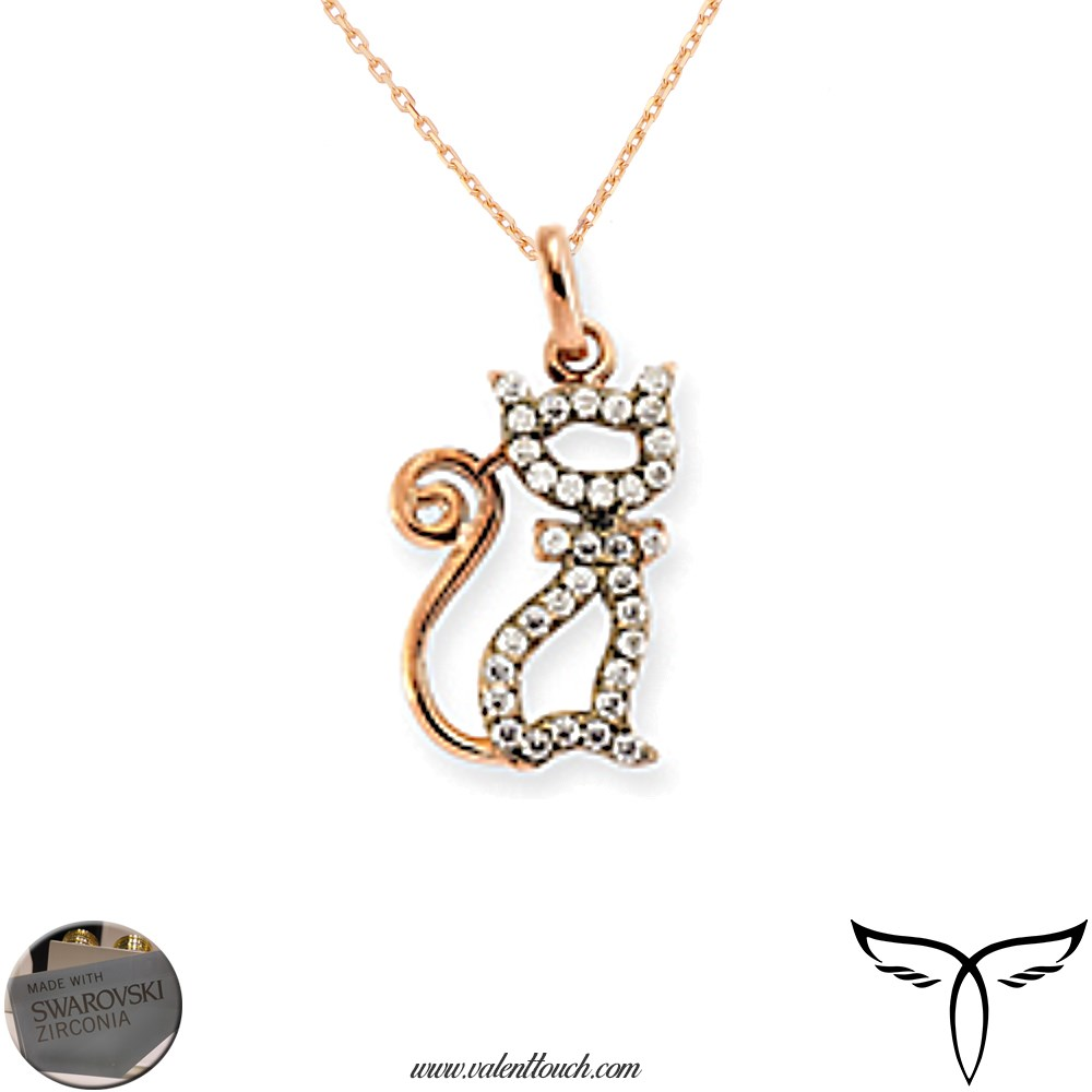 Kolye Swarovski Rose Cat 14210-62 2.09